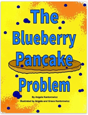 The Blueberry Pancake Book Amazon Cover