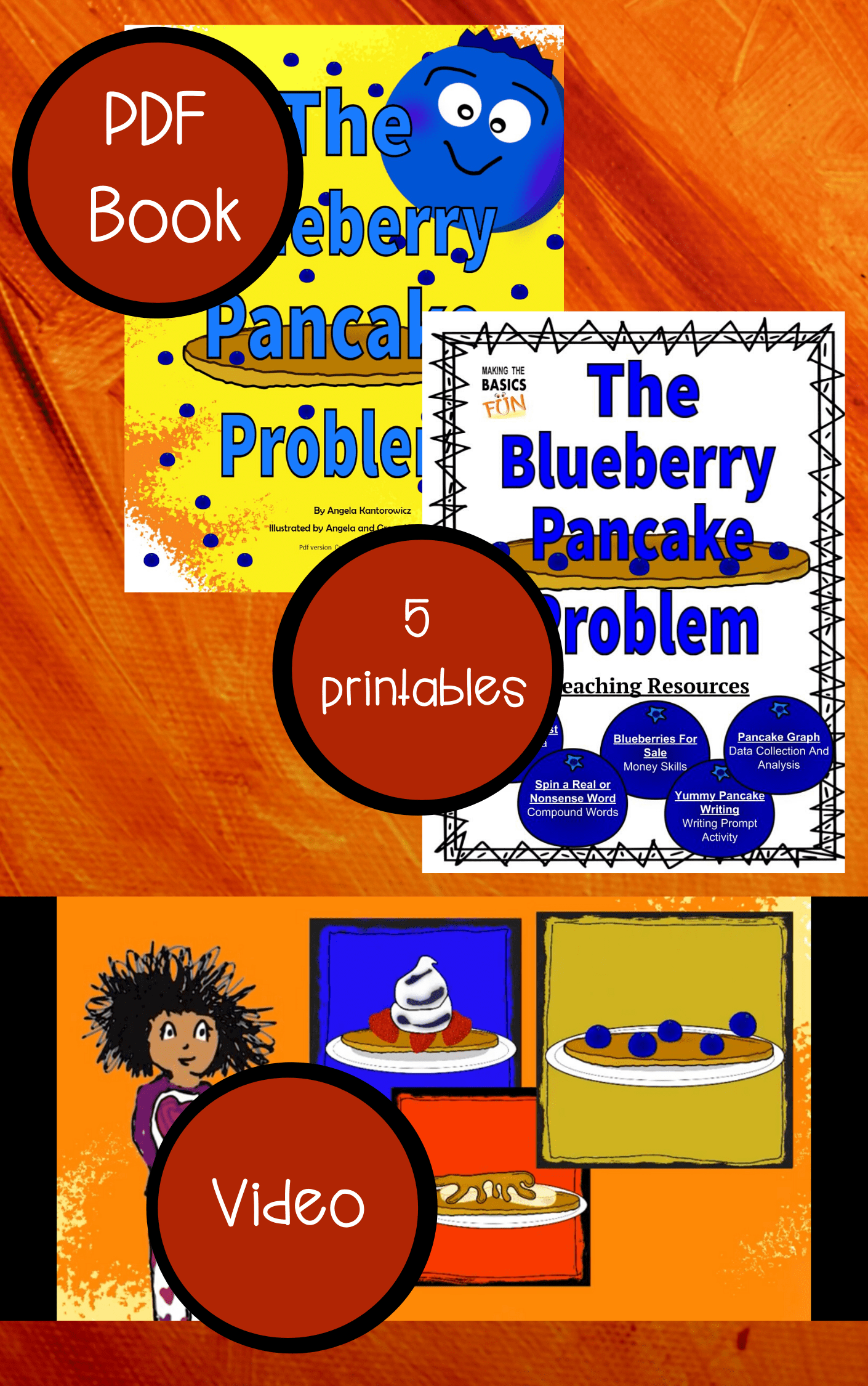 The Blueberry Pancake Problem Resource Pack Graphic